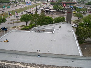 Completed Commercial Roof